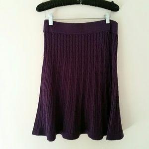 Merona Purple Skirt Size S NWOT